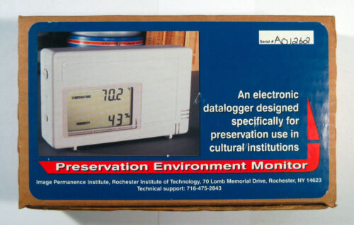 Preservation Environment Monitor PEM Datalogger from Image Performance Institute