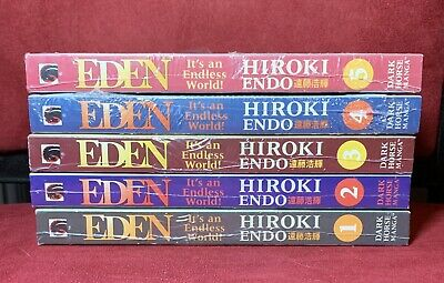 Eden: It's An Endless World, Vols. 1 2 3 4 5, SEALED, Hiroki Endo, English Manga comprar usado  Enviando para Brazil