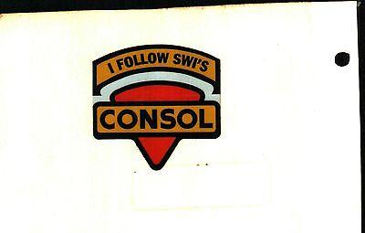 Nice I Follow Swis Safety Shield Consol Coal Co  Coal Mining Sticker   951