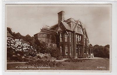 ST.HELENS HOTEL, KILCREGGAN: Dunbartonshire postcard (C20982)
