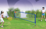Tennis Set Garden & Beach Game 2 Rackets & Balls 2.4m Net & Posts easy up 101038