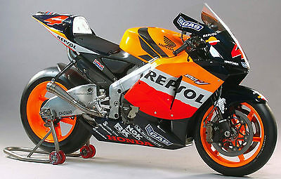 The influence of the RC211V Moto GP bikes is clear.