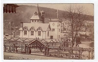 THE PUMP HOUSE, STRATHPEFFER: Ross-shire postcard (C23810)