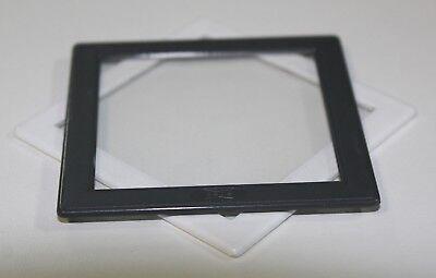 1 Stück Gepe Mittelformat Diarahmen Glas 6x6 verglast Antinewton Dia Rahmen