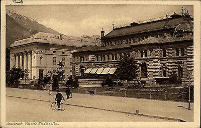 Innsbruck Österreich Tirol 1927 Stadtsaalbau Stadttheater Theater Straßenpartie