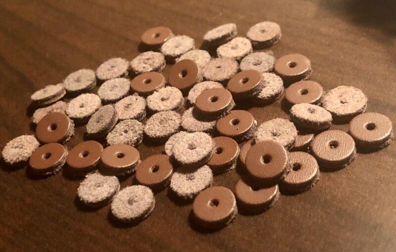 100 Pieces 8mm Spacer 文玩专用🐮牛皮隔片 100片一包