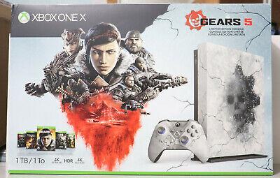 Microsoft Xbox One X Gears 5 Limited Edition Console 1TB BRAND NEW & RARE USA