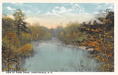Fayetteville North Carolina~View at Cross Creek~No Mall~c1916 (North Brook Mall)