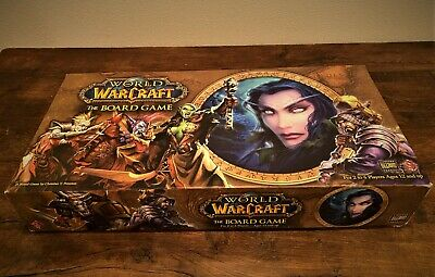 World of Warcraft Board Game - Never Played, 100% Complete