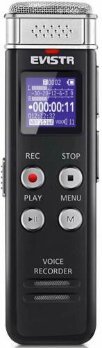 16GB Digital Voice Recorder Voice Activated Recorder with Playback - Upgraded Sm