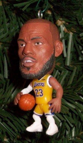 LeBron James  LOS ANGELES LAKERS  NBA  Christmas Tree Ornament Basketball Figure