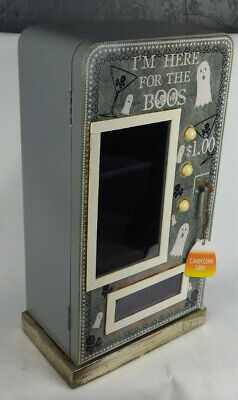 Halloween Decoration Cabinet I'm here for the BOOs Candy Corn Lane 24 inch Tall