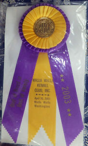 Rosettes For Akc Dog Show