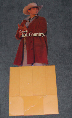Kd Lang Absolute Torch and Twang cassette counter display ()
