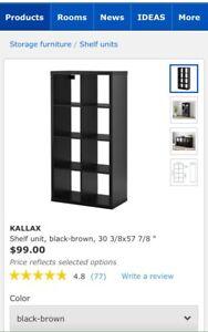 ISO Ikea Shelf Unit or similar