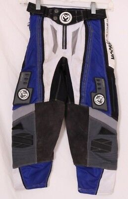Moose Racing USA Sahara MX Motorcross Dirt Bike Blue Pants Youth Kid's 22