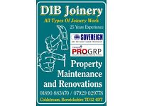 Joinery property maintenance