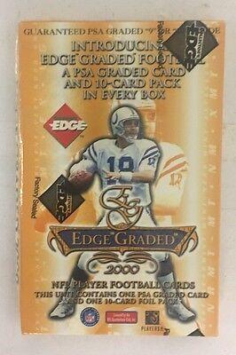 2000 Edge Graded Single Pack Box, 1 PSA card, 1 Pack, NEW, -
