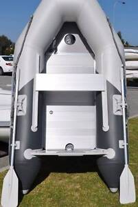 Aristocraft Inflatable Dingy/tender and 3.5HP Tohatsu Outboard Victoria Park Victoria Park Area Preview