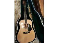 Martin d35 acoustic guitar may p/x