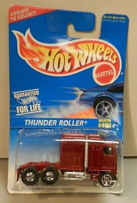 Hot Wheels Thunder Roller #483 - Deep Metallic Red 1995