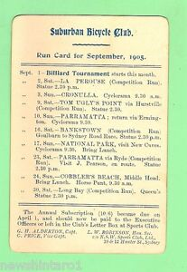 D71-1905-SUBURBAN-BICYCLE-CLUB-SEPT-RUN-CARD-BILLIARD-TOURNAMENT