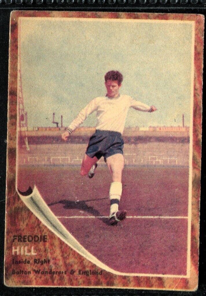 EDDIE HOPKINSON A/&BC-FOOTBALL MAKE A PHOTO 1963-#094 BOLTON WANDERERS