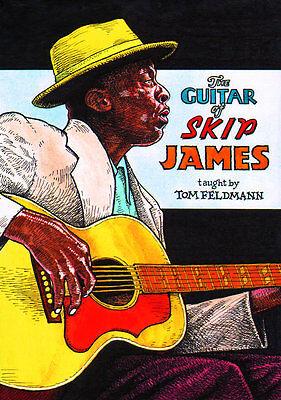 THE DELTA BLUES GUITAR OF SKIP JAMES Video 2 DVD Set Lessons With Tom Feldmann