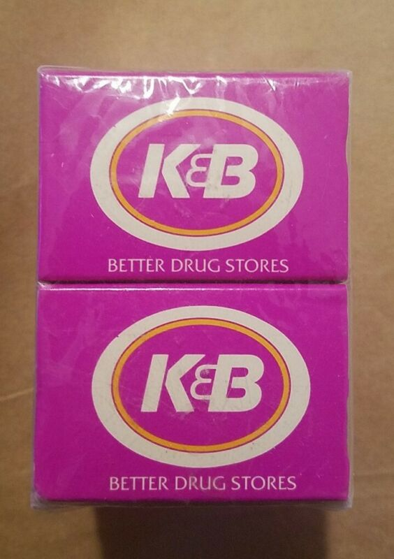 VINTAGE  K & B DRUGSTORE MATCH BOX  10 BOXES  FACTORY SEALED  NEW ORLEANS...