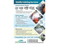 MOBILE valeting services STEAM