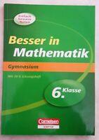 Besser in Mathematik 6.Klasse; ISBN 978-3-411-86124-8 Rheinland-Pfalz - Schwegenheim Vorschau