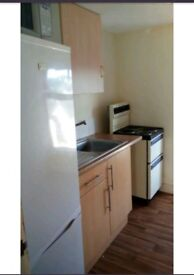 One bedroom Self-Contained studio flat @ £105.00/week Available immediately