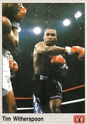 LARRY HOLMES WBC Heavyweight 1991 AW Sports Boxing Card