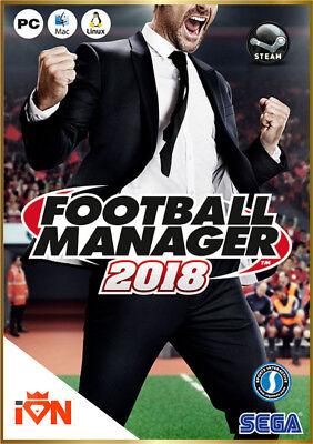 [Versione Digitale Steam] PC Football Manager 2018 FM 18  *Invio Key via email
