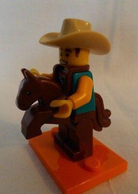 Lego Minifiguren 71021 Serie 18 - 40 Jahre Lego Nr.15 Cowboykostüm Pferd