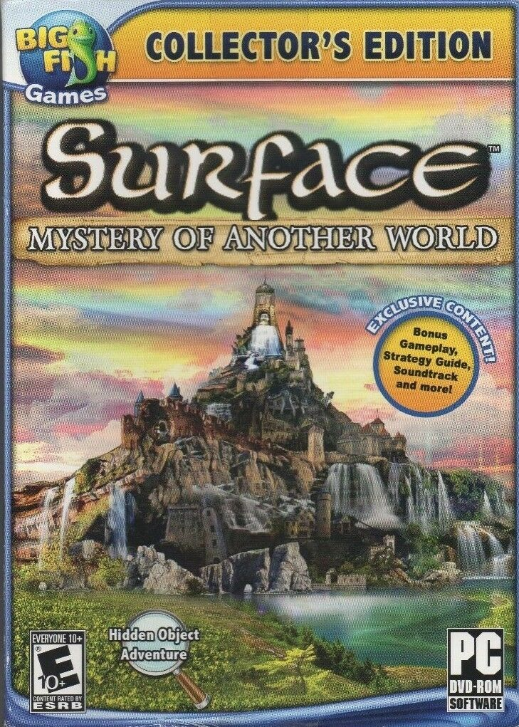 Computer Games - Surface Mystery of Another World PC Game Window 10 8 7 XP Computer seek find NEW