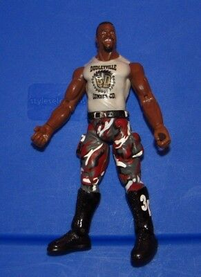 WWE WWF Wrestling Figure : Jakks 1999 : DudleyVille D-Von