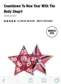 The Body Shop Count Down To The New Year