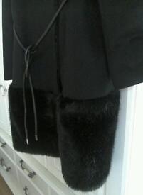 Black coat by Coast size 18