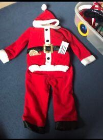 Talking santa suit