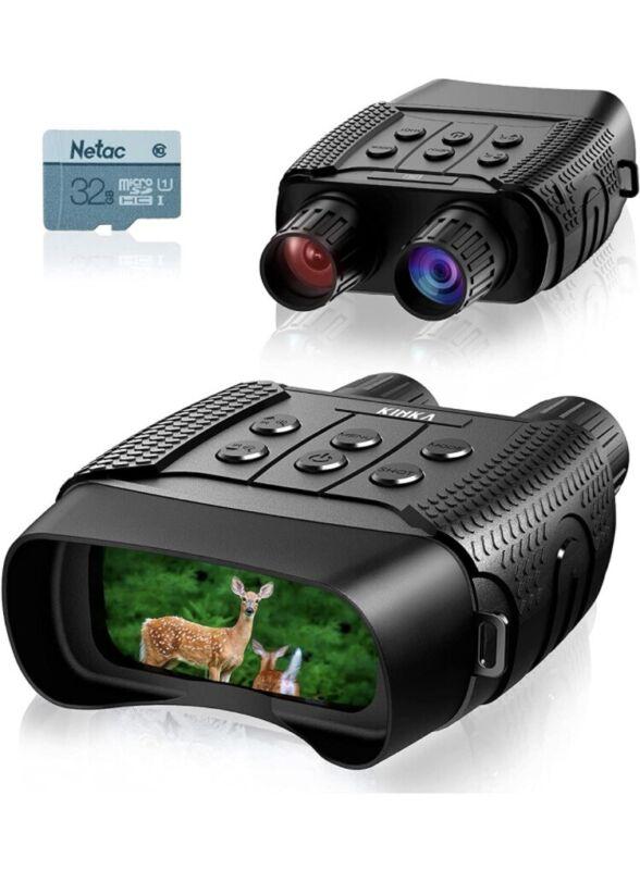 KINKA Night Vision Binoculars for Adults Travel Infrared Digital - Free Shipping