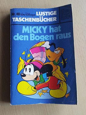 Walt Disneys - Micky hat den Bogen raus Taschenbuch Nr. 46 - mittelguter Zustand