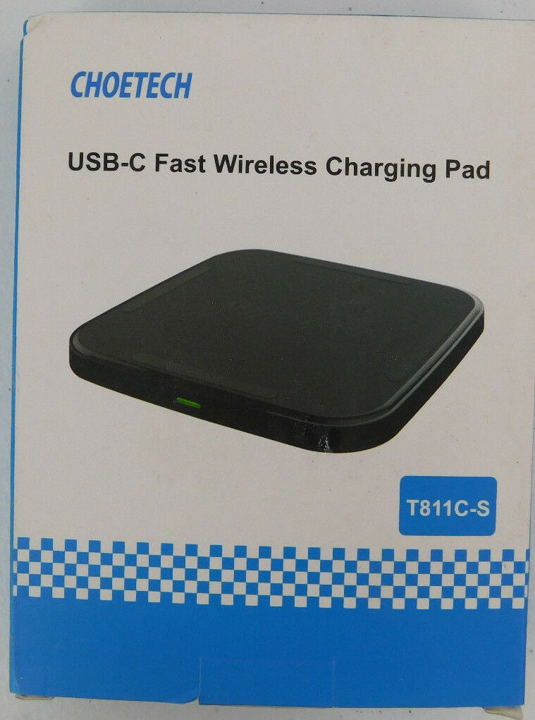CHOETECH T811CS QI Fast Wireless Charger USB Type C Wireless