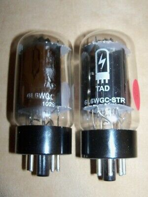 Amp Doctor TAD 6L6WGC-STR 6L6 Matched Pair Vacuum Tubes