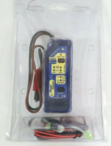 JDSU TG400 Cable Tester Tone Generator Resi-Toner Blue with Cords