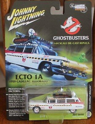 2017 Johnny Lightning Ghostbusters Ecto 1A 1957 Cadillac Eldorado Special Editio