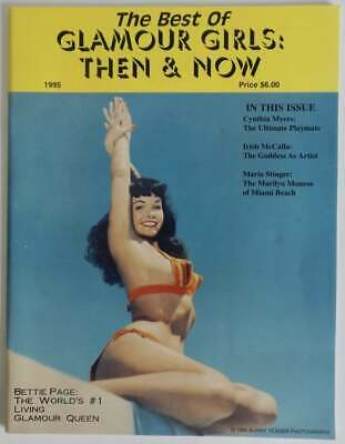 1995 Best of Glamour Girls Then & Now by Photographer Bunny Yeager Bettie