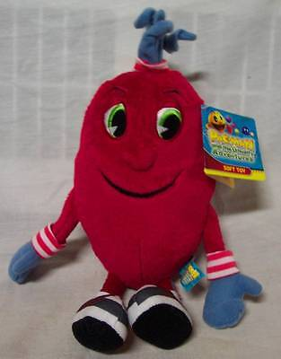 """PAC-MAN and The Gostly Adventures SPIRAL 11"""" Plush STUFFED ANIMAL Toy NEW w/ TAG"""