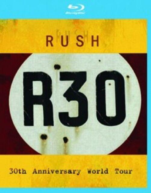 RUSH - R30-30TH ANNIVERSARY WORLD TOUR  BLU-RAY NEU