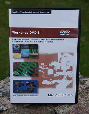 !!NEU!! Casablanca Workshop-DVD 11  - MultiColor - MX-Creator - Quick-Photo 2 !!